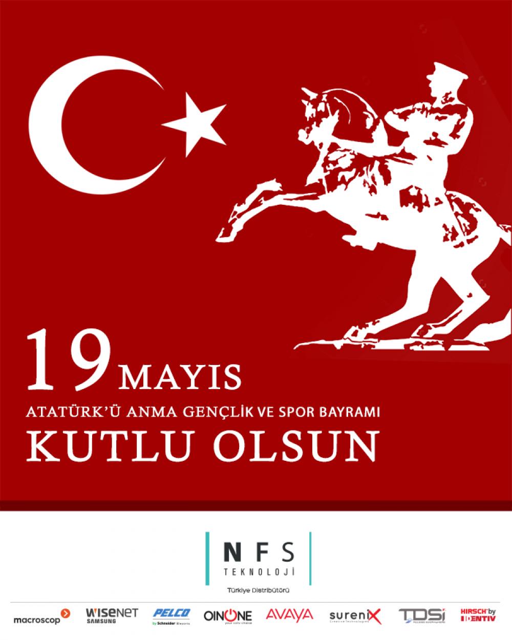 19 Mayıs Atatürk'ü Anma ve Gençlik Spor Bayramı Kutlu Olsun