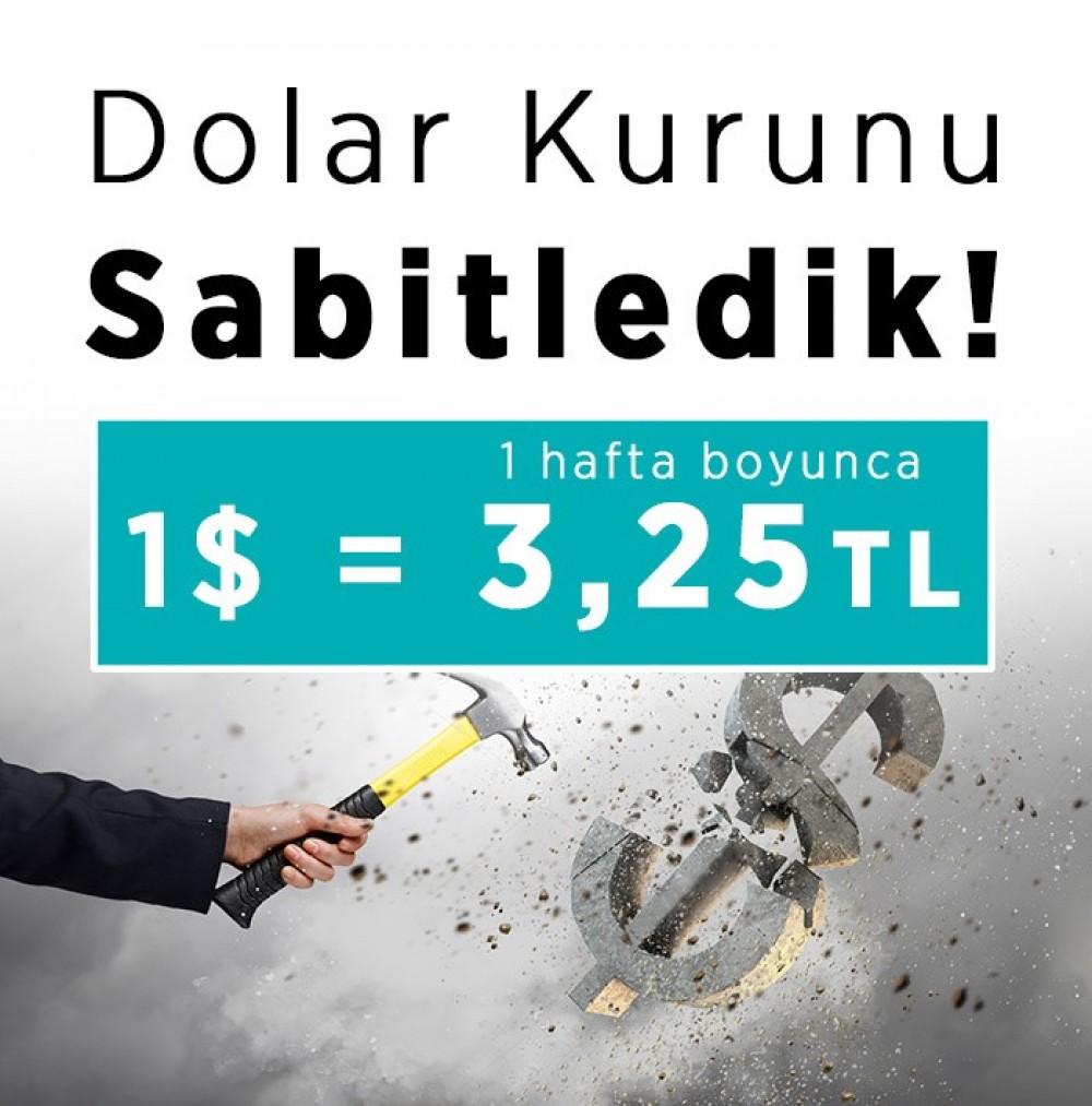 Dolar Kurunu Sabitledik!