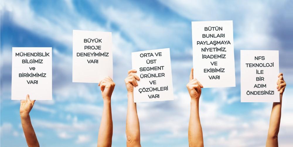 SİSTEM ENTEGRATÖRÜ PROJE FİRMALARI NFS TEKNOLOJİ İLE YOL ALIYOR