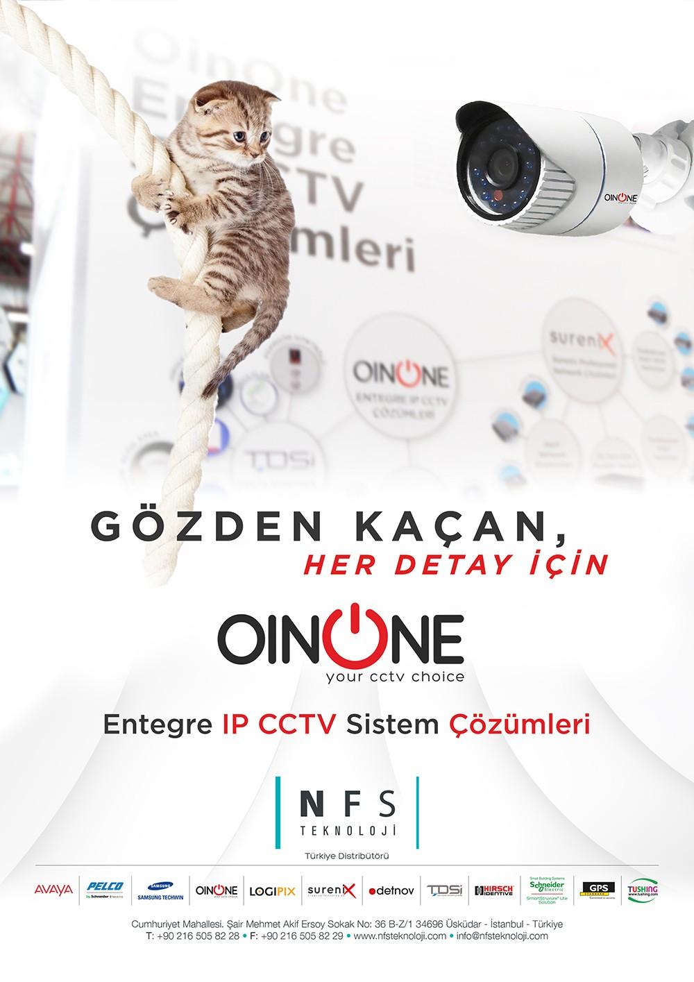 OINONE ENTEGRE IP CCTV SİSTEM ÇÖZÜMLERİ