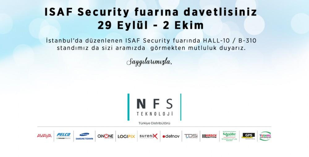ISAF Security Fuarına Davetlisiniz