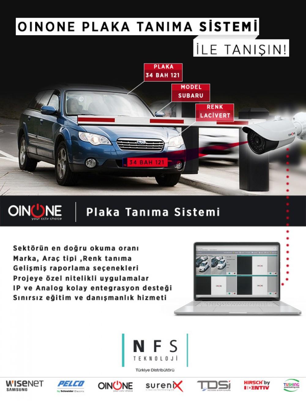 OinOne Plaka Tanıma Sistemi İle Tanışın