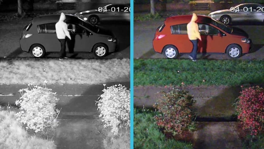Renkli Gece Görüş Güvenlik Kameraları