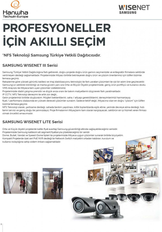 Samsung CCTV Türkiye Distribütörü