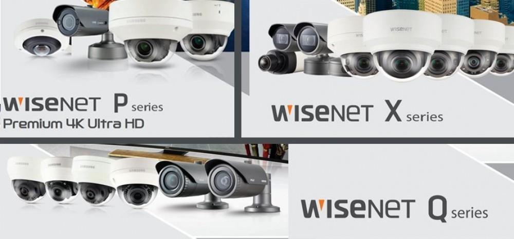 Samsung Wisenet Q, X ve P Serileri İçin Hızlı Kılavuz