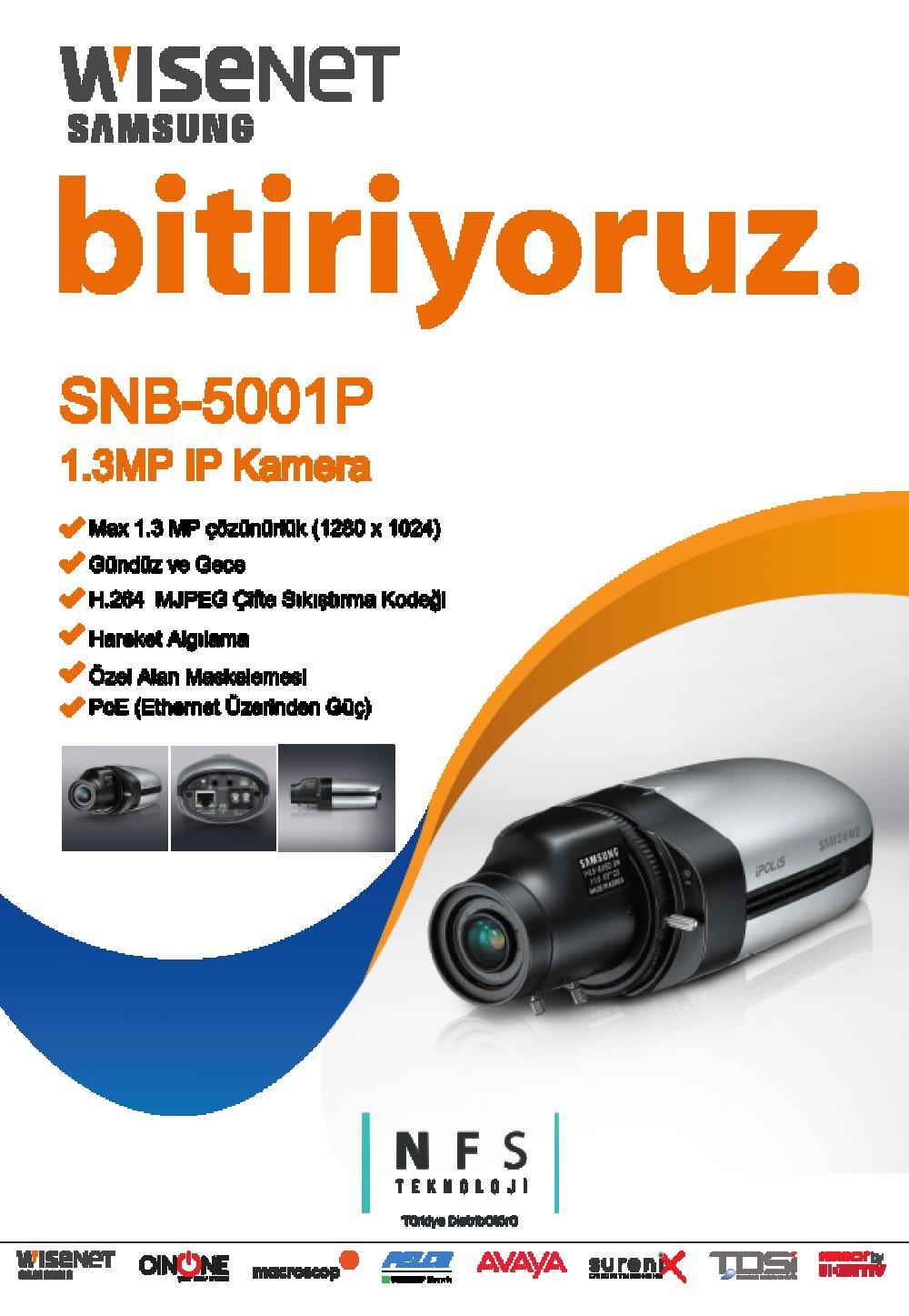 Samsung Wisenet SNB-5001P