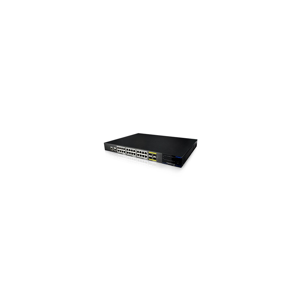 24 Gigabit Ports & 4*10Gigabit Managed Ethernet Switch